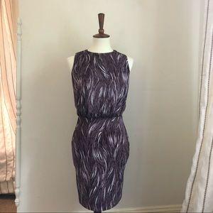 Susana Monaco Patterned Sleeveless Dress